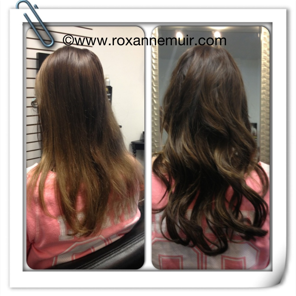 Hair Extensions Before And After Toronto Canada Extension Blog
