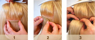 4 New Hair Extension Systems  Image 1