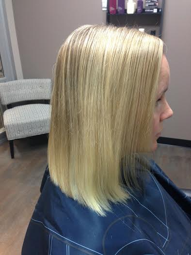 Balmain Hair Extensions - Before and After Image 2
