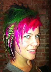 Feather Hair Extensions Gone Bad| Give a Rooster a Break Image 2