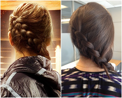 katy perry hairstyle : Hunger Games Katniss Everdeen Braid