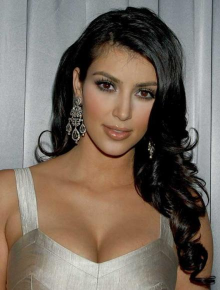 Kim kardashian curls a subtle but still gorgeous look for kim from the kim kardashian loves hair extensions pmusecretfo Image collections