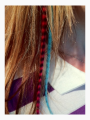 Synthetic Rooser Feather Extensions Hit the Streets Image 4