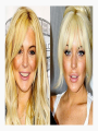 Lindsey Lohan | Clip in Bangs