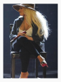 Christina Aguilera on Set of The Voice