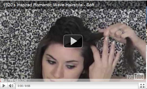1920's Inspired Romantic Wave Hairstyle