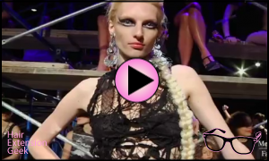 Tape in Hair Extensions Rule New York Fashion Week | Er