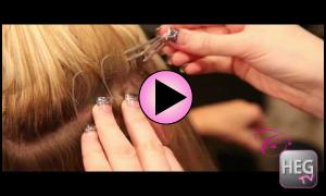 How Cinderella Hair Extensions Are Applied.