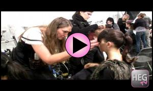 Easibangs in Action at NYC Fashion Week