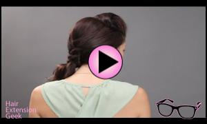 The Pompadour Meets Boho | Gorgeous Hair Extension Tuto