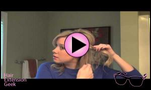 Holiday Hair Tutorial for Gorgeous Hair Extensions