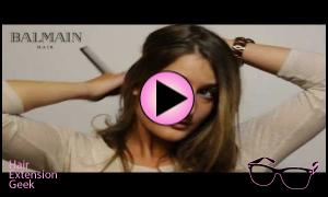 Hair Dress by Balmain | halo hair extension - A Review