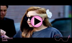 Lady Gaga Goes Louis Vuitton Brown | Brunette