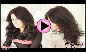 Holiday Hair Tutorial- Party Curls