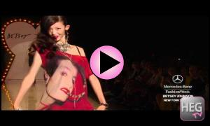 Betsey Johnson Spring 2012 | Hair Extensions Galore