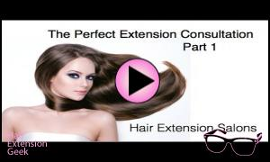 Part 1 - The Hair Extension Salon Consultation
