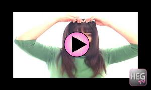 Clip in Bangs Tutorial | Easibangs by Easihair