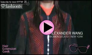 Alexander Wang at NYC Fashion Week